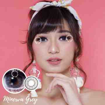 Kitty Kawaii Minerva Grey Softlens