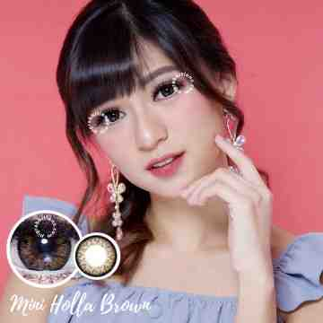 Kitty Kawaii Mini Holla Brown Softlens