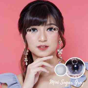 Kitty Kawaii Mini Sugar Grey Softlens