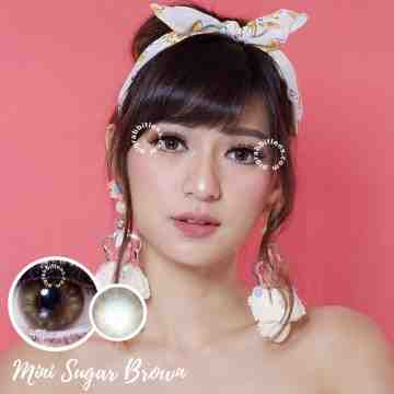 Kitty Kawaii Mini Sugar Brown Softlens