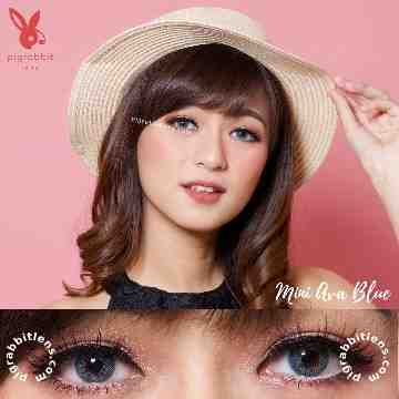 Kitty Kawaii Mini Ava Blue Softlens