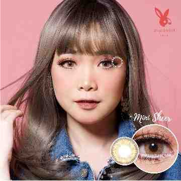 Kitty Kawaii Mini Sheer Brown Softlens