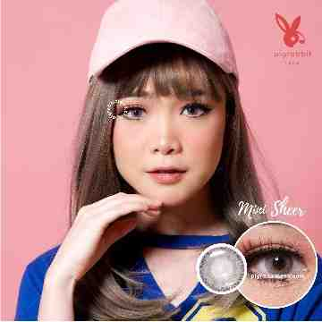Kitty Kawaii Mini Sheer Grey Softlens