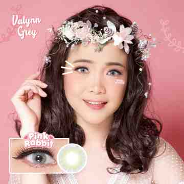 Pink Rabbit Valynn Grey Softlens