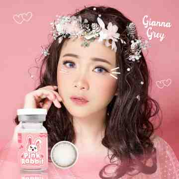Pink Rabbit Gianna Grey Softlens
