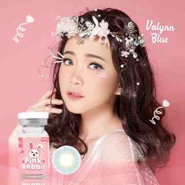 Pink Rabbit Valynn Blue Softlens