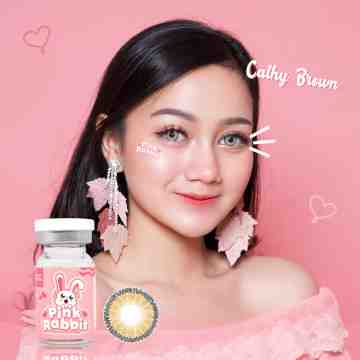 Pink Rabbit Cathy Brown Softlens