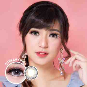 Kitty Kawaii Stella Grey Softlens