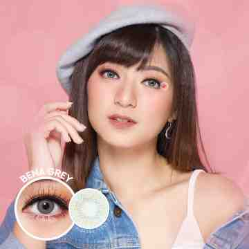 Kitty Kawaii Bena Grey Softlens