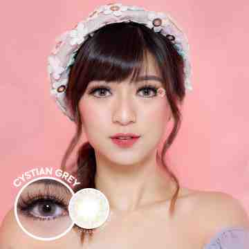 Kitty Kawaii Cystian Grey Softlens