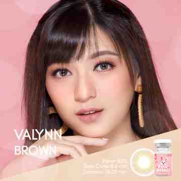 Pink Rabbit Valynn Brown Softlens