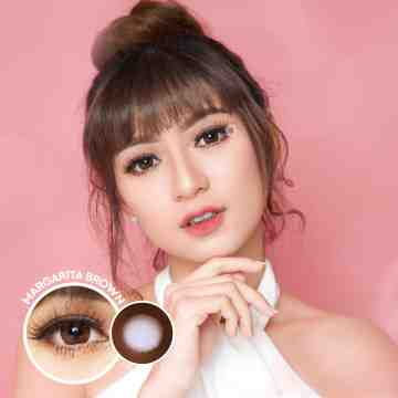 Kitty Kawaii Margarita Brown Softlens