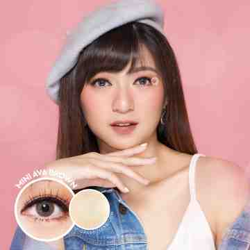 Kitty Kawaii Mini Ava Brown Softlens