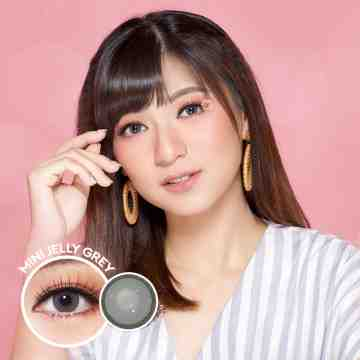 Kitty Kawaii Mini Jelly Grey Softlens