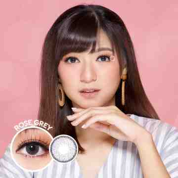 Kitty Kawaii Mini Rose Grey Softlens