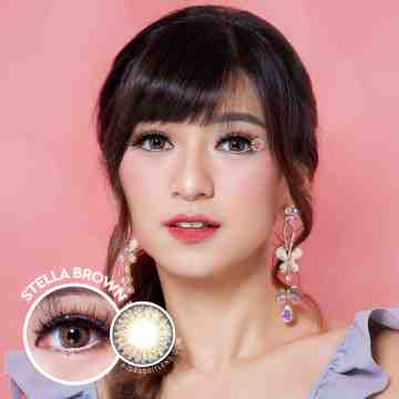 Kitty Kawaii Stella Brown Softlens