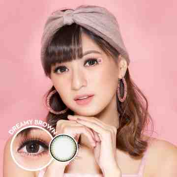 Kitty Kawaii Dreamy Brown Softlens