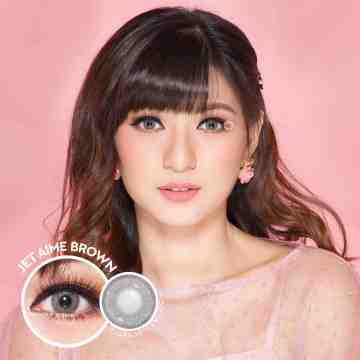 Kitty Kawaii Jet Aime Brown Softlens