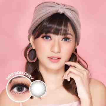 Kitty Kawaii Mini Bom Grey Softlens