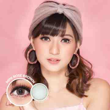 Kitty Kawaii Mini Rose Brown Softlens