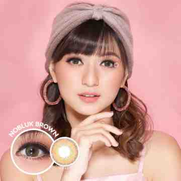 Dreamcolor1 Nobluk Brown Softlens