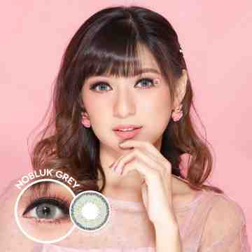 Dreamcolor1 Nobluk Grey Softlens
