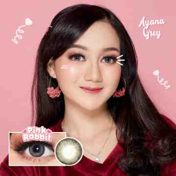 Pink Rabbit Ayana Grey Softlens