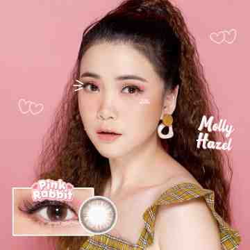 Pink Rabbit Molly Hazel Softlens