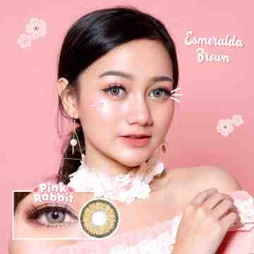 Pink Rabbit Esmeralda Brown Softlens