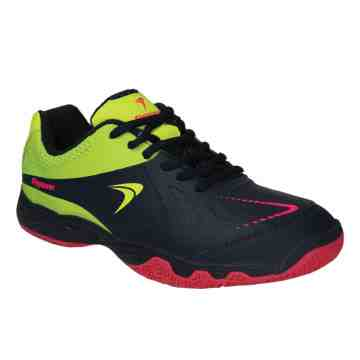 Sepatu Badminton FlyPower Losari 03 Junior (Blue Navy/Citrus/Hot Pink)