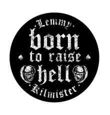 Born To Raise Hell Backpatch