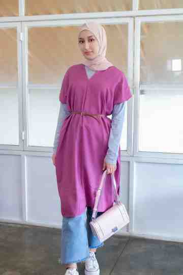 Tunik Adiba 0220 Purple