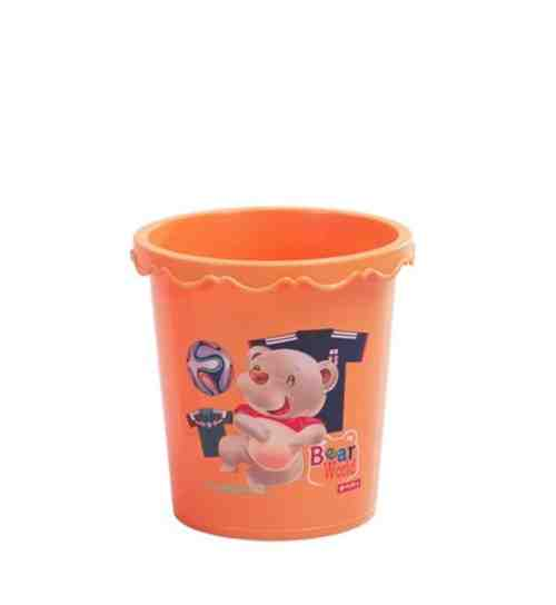 Tempat Sampah Paris Round Bin 3,7 Litre ( C-45 ) Lion Star