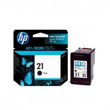 Cartridge HP 21 Black image