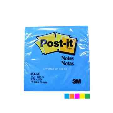 3M Post It 654-AC Color image