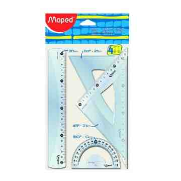 Maped 4 Piece Geometry Set 242820 image