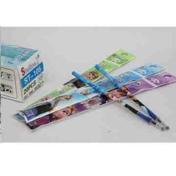 Fancy Refill Pulpen Gel Pen Cartoon image