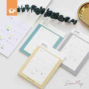 Easy Sticky Monthly Planner image