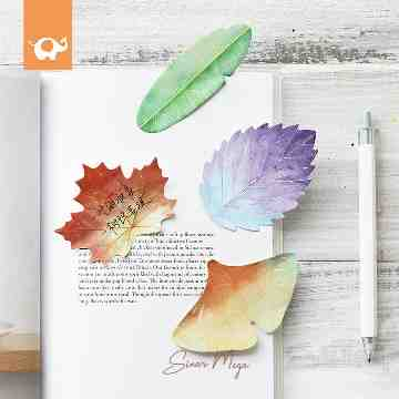 Leaf Collecton Sticky Notes image