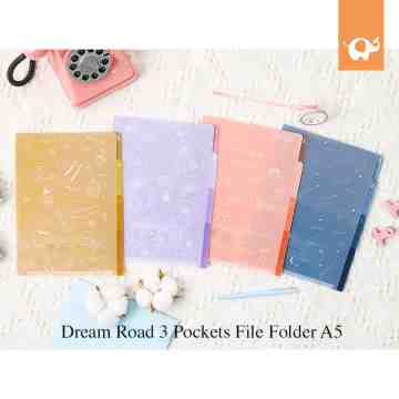 Dream Road 3 Pockets File Folder A5 image