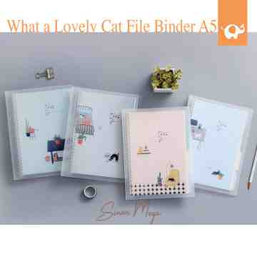 What A Lovely Cat File Binder A5 image