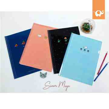 Animal Hug Me Sliding File Folder A4 image