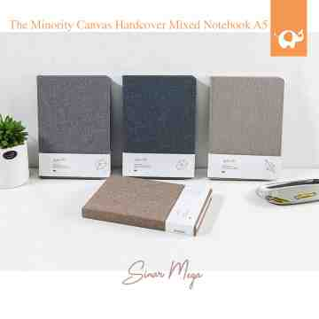 The Minority Canvas Hardcover Mixed Notebook A5 image