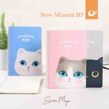 New Miaomi Class Spiral Ruled Notebook B5 image