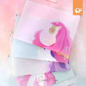 Fantasia Lovely Kitty Zipper File Folder A4 image