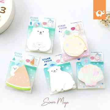Stand Fusen Polar Bear Sticky Notes image