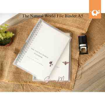 The Natural World File Binder A5 image