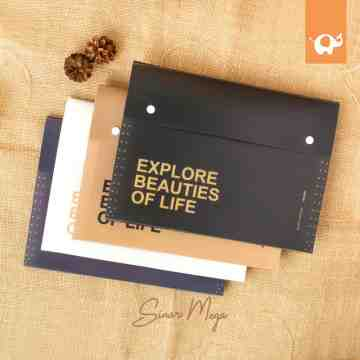 Explore Beauties Of Life Expanding File Folder A4 image