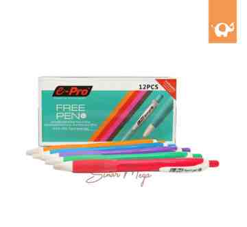 E-Pro Free Pen 0.7mm ESG-002 Black Semi Gel image