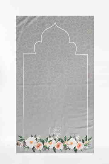 Tiara Prayer Mat 028 Dark Grey image